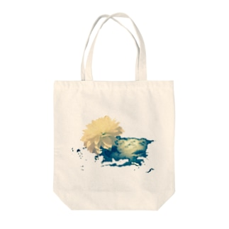 flower night Tote bags