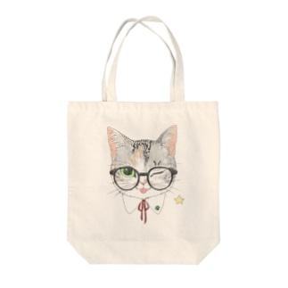 三毛猫トート② Tote bags