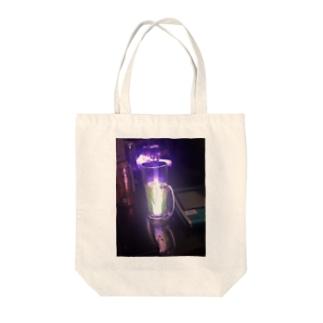 サイリウムとリアルゴールドと Tote bags