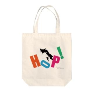 HOPだワン Tote bags