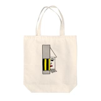 人面イカ! Tote bags