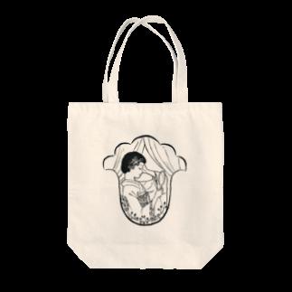 ASAGIのよこ顔 Tote bags