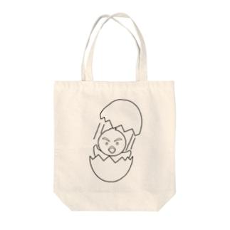 ひよこ塗り絵のTシャツ Tote Bag