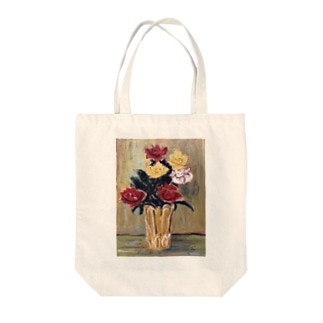 ami  flowers Tote bags