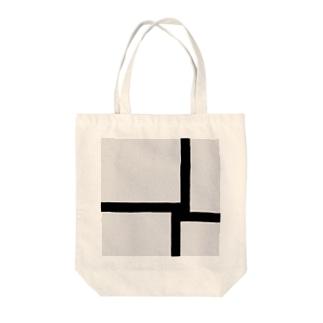 Square4 Tote bags