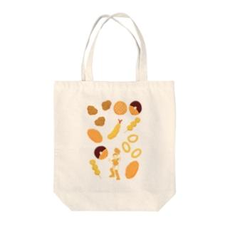 キャッチャーフライ Tote bags