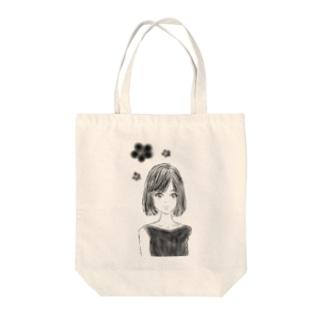 おちょぼ口girl♡ Tote bags
