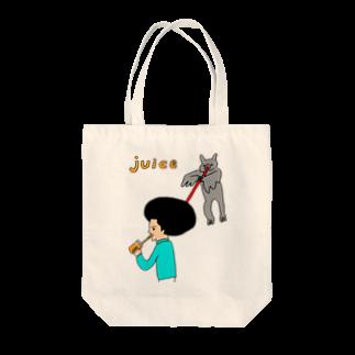 花くまゆうさくのJUICE(ジュース)2 Tote bags