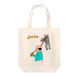 JUICE(ジュース) Tote bags