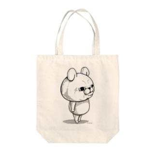 うさぎ100%リアル Tote bags