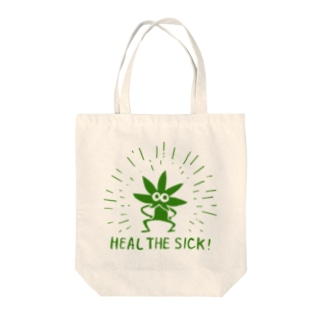 22エモン - HEAL THE SICK! Tote bags
