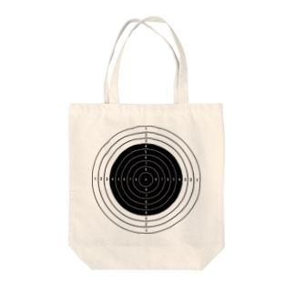 ライフル射撃の的/ターゲット Tote bags