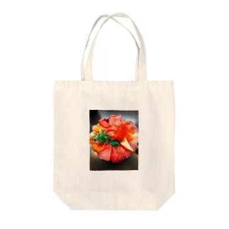 海鮮丼 Tote bags