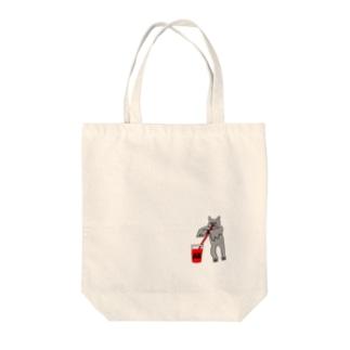 血液型をさりげなく申告(AB) Tote bags