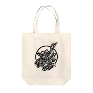 ダンクルオステウス Tote bags