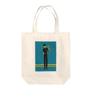 サブカル男子 Tote bags