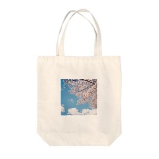 サクラチル Tote bags