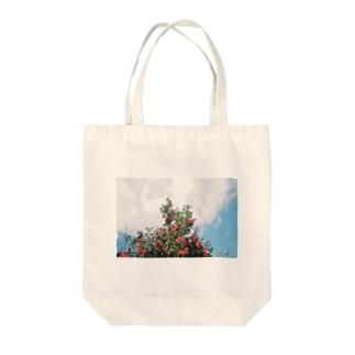 裏庭の木 Tote bags