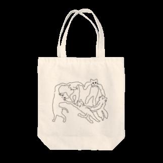 ℴんちゅのネケチェン・アウトライン Tote bags