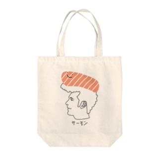 すしお Tote bags