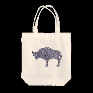 ヴンダーカンマーの亥 Tote bags