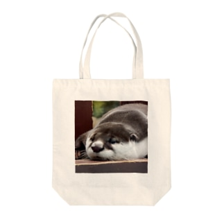ユーラシアカワウソ Tote bags