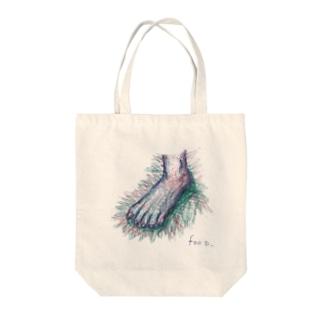 foot Tote bags
