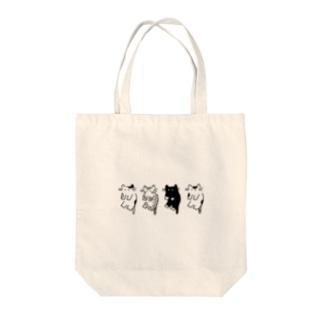 ねこパック Tote bags