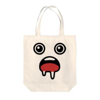 よだれ Tote bags