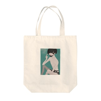 びじん Tote bags