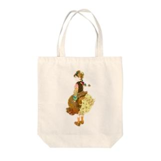 girl-c Tote bags