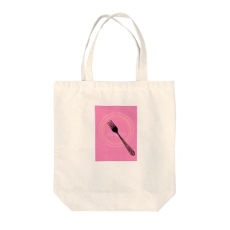eclipse   Baby Pink Tote bags