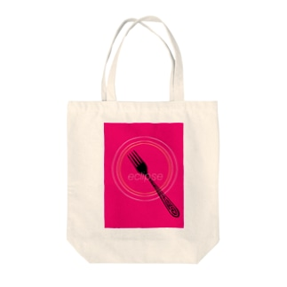 eclipse     pink Tote bags
