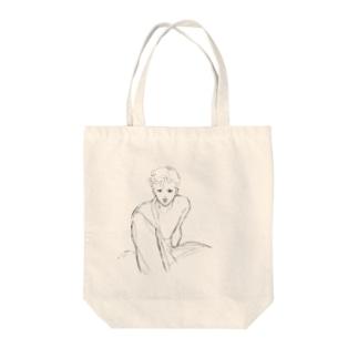 ホットロード春山 Tote bags