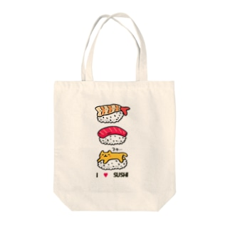 I  love  sushi Tote bags