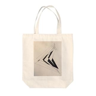 斜線 Tote bags