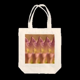 クレヨン君とえんぴつ君のふうりんそう Tote bags