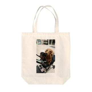 ベビーカーでお買い物 Tote bags