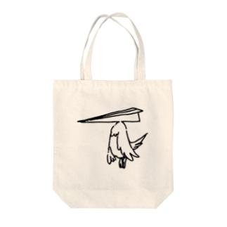 レターバード(A) Tote bags