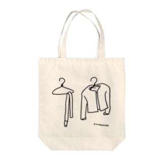 はりがねハンガー Tote bags