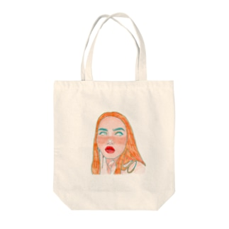 GIRL  in 1950. Tote bags