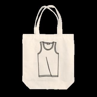 犬田猫三郎のタンクトップ Tote bags