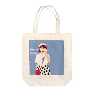 ちょこびバッグ Tote bags