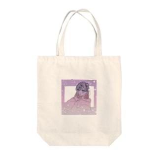 キラキラ 女の子 Tote bags