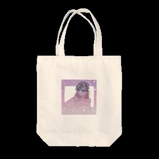 2zdoppoのキラキラ 女の子 Tote bags