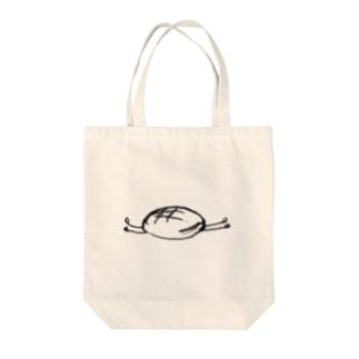 """""""圧倒的安定""""の文鎮メロンパン。 Tote bags"""