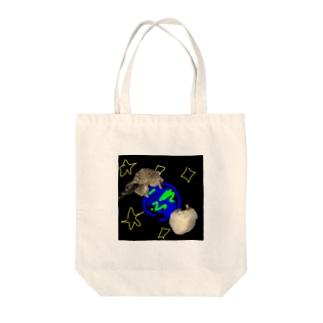 宇宙×猫 Tote bags