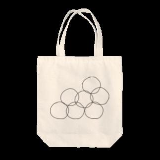 へのへのもへじゃのBag with balls Tote bags