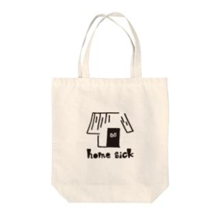 homesick Tote bags