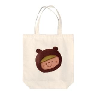 革のくまちゃん Tote bags
